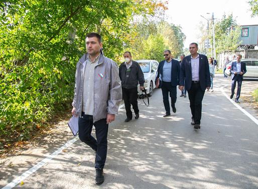 Активисты ОНФ проверили безопасность подходов к школам Солнечногорска