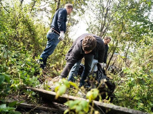Более 40 кубометров мусора собрали на субботнике в Лунево