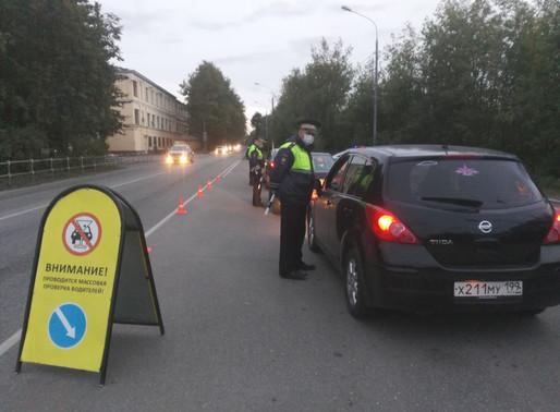 В Солнечногорске проводят профилактические мероприятия «Нетрезвый водитель»