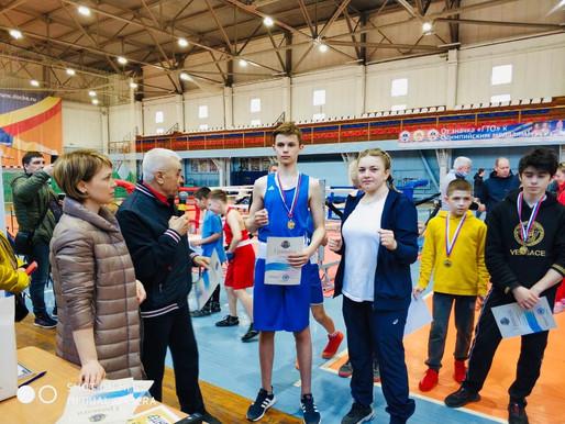 Боксер из Солнечногорска победил в открытом турнире в Дмитрове