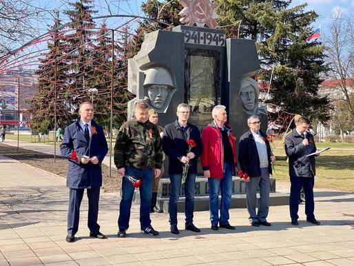 Единороссы Солнечногорска приняли участие в автопробеге «Я помню, я горжусь»