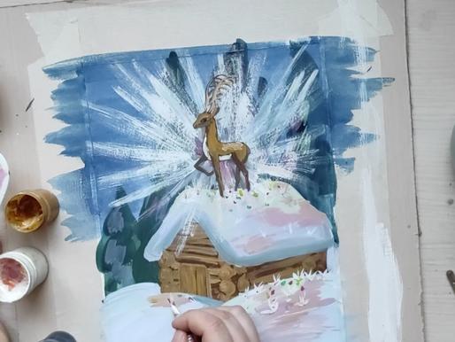 Художественный мастер-класс по сказке Бажова провели в Солнечногорске