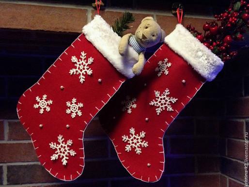 В Солнечногорске свяжут сапожок Деду Морозу