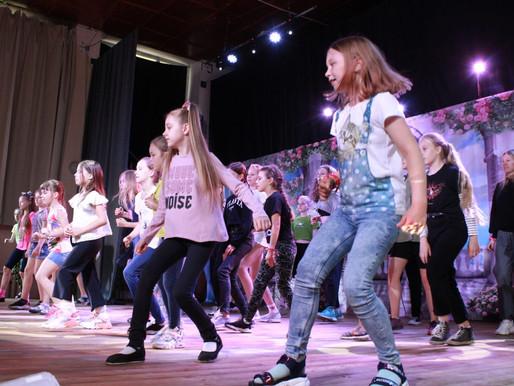 Мастер-класс по хореографии прошел в Солнечногорье