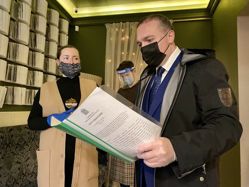 Солнечногорские единороссы проверили соблюдение санитарных норм в кафе и ресторанах округа