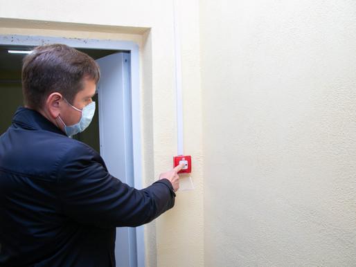 В домах ЖК «Березки» в Солнечногорске установили современную пожарную сигнализацию