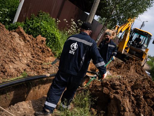 500 участков газифицируют в деревне Солнечногорска до конца 2020 года