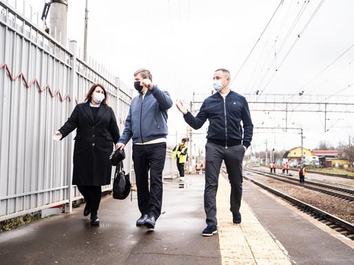 Соблюдение масочного режима проверили на железнодорожной станции в Солнечногорске