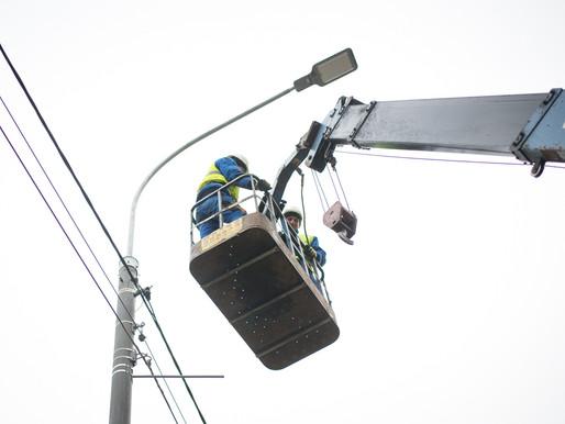 До конца года в Солнечногорске заменят более 5 тысяч уличных светильников