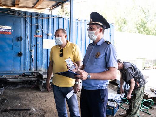 В Солнечногорске ищут нарушителей, сжигающих изоляционные оплетки проводов