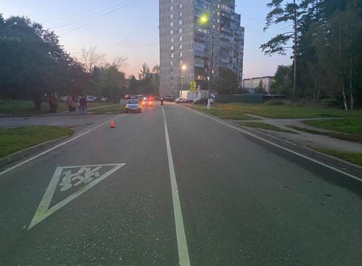 В Менделеево несовершеннолетний пешеход пострадал в дорожно-транспортном происшествии