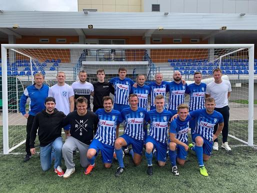 Футбольный клуб «Андреевка» стал серебряным призером зеленоградской премьер лиги