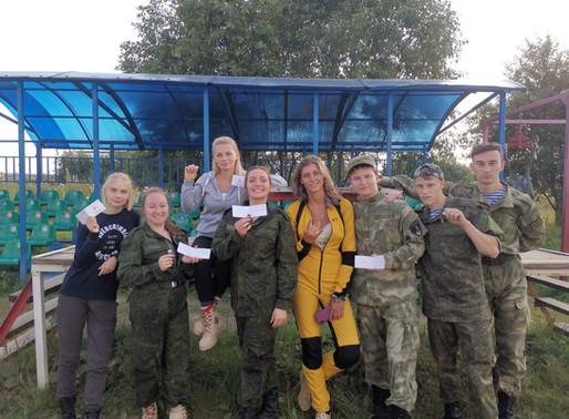 В Солнечногорске открыли набор на курс начинающего парашютиста