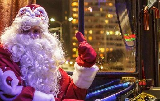 В Новогоднюю ночь в Солнечногорье продлят работу общественного транспорта