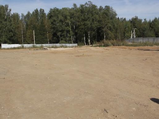 В деревне Носово ликвидируют незаконную свалку строительного мусора