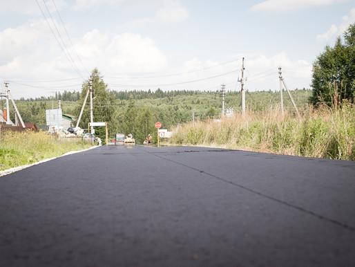 В Солнечногорске приступили к асфальтированию дорог к СНТ