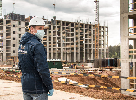 В Солнечногорске проверяют соблюдение санитарного стандарта на объектах строительства