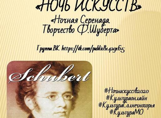 В Солнечногорске проведут онлайн-мероприятие «Ночная серенада»