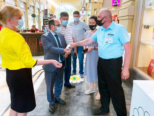 Проверки торговли на соблюдение эпидемиологических норм проходят в Солнечногорске