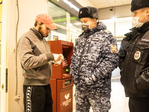 В Солнечногорске проверяют соблюдение масочного режима в общественных местах