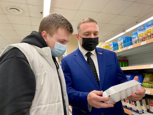 «Народный контроль» Солнечногорска провёл мониторинг магазинов «Дикси»