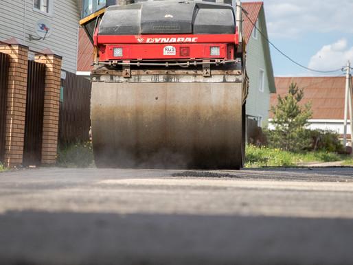Более 23 километров дорог отремонтируют в этом году в городском округе Солнечногорск