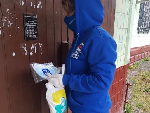 Волонтёры Солнечногорского отделения партии «Единая Россия» оказывают необходимую помощь жителям