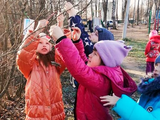 Акцию в поддержку зимующих птиц провели в Солнечногорске
