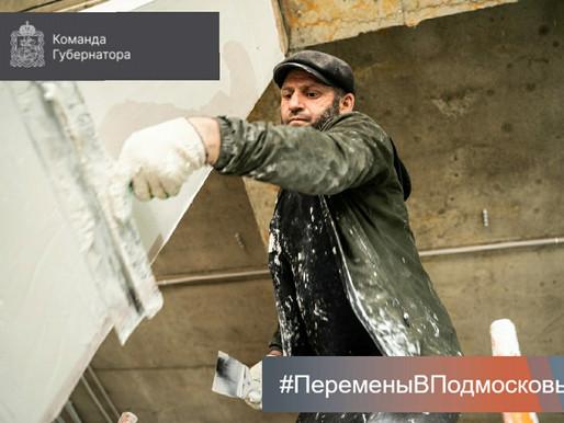 В городском округе Солнечногорск продолжается строительство школы по президентскому проекту