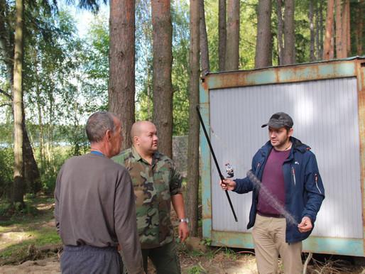 В Солнечногорске обнаружили лагерь браконьеров