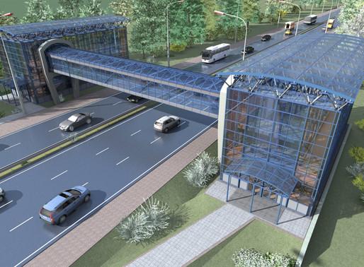 Три надземных пешеходных моста возведут в городском округе Солнечногорск в течение года