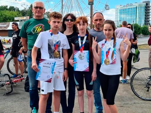 Солнечногорские спортсмены завоевали медали на всероссийских соревнованиях по дуатлону