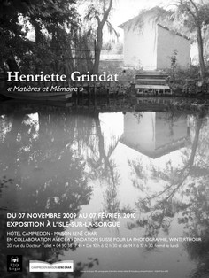 Henriette Grindat CAMPREDON centre d'art