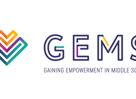 Announcing GEMS: Gaining Empowerment in Middle School