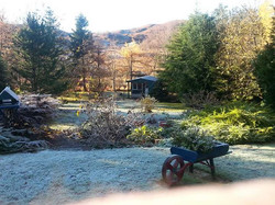View from guest conservatory