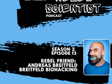 Biohacking Legend Andreas Breitfeld gives Sarah and Russ the cold shoulder