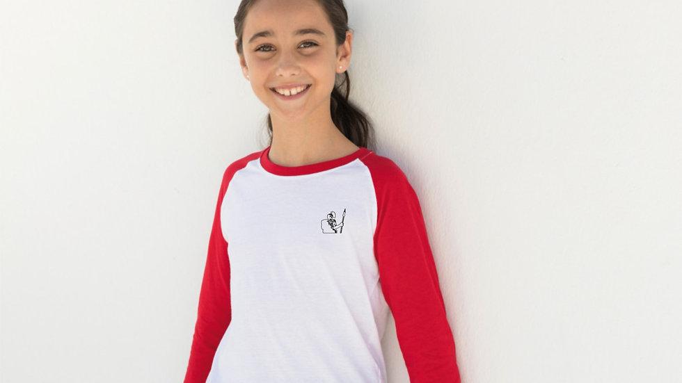 Kid`s Long Sleeved Baseball-Shirt