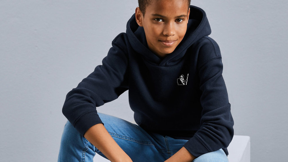 Kids`s Authentic Hooded Sweat