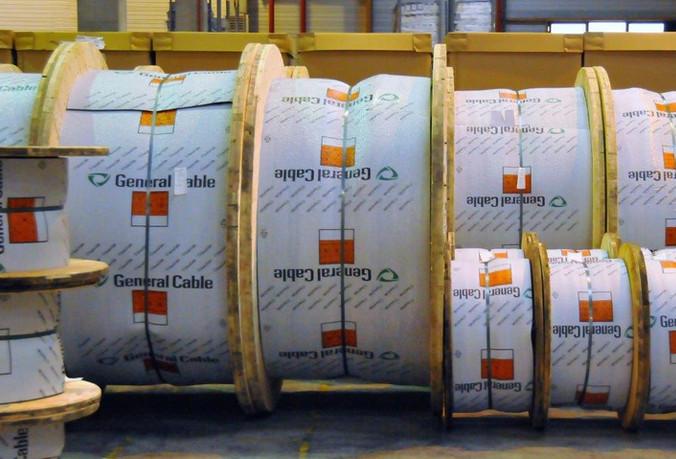Orcos logistics - Fos - Bobines de câble