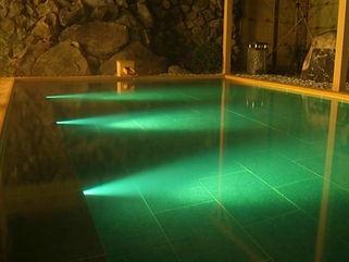 大山ロイヤルホテル 水中照明