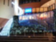 ららぽーと船橋 階段広場2009 ファイバーカーテン照明