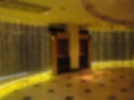 ホテルSEEDS ファイバーカーテン照明