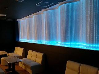 M&W  ファイバーカーテン照明