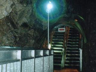 龍泉洞 通路照明 スポット ショーケース 照明c