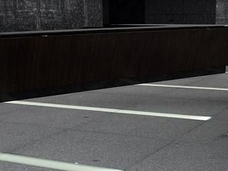 エナジースクエアビル 埋設 ライン照明