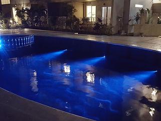 リゾートクラスイン恩納 水中照明