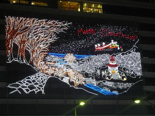 JR名古屋駅高島屋イルミネーション