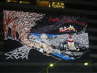 JR名古屋駅高島屋イルミネーション イルミネーション 照明