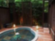 四季を味わう宿 山の茶屋 水中照明