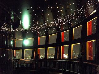 神戸ポートタワー 星空照明